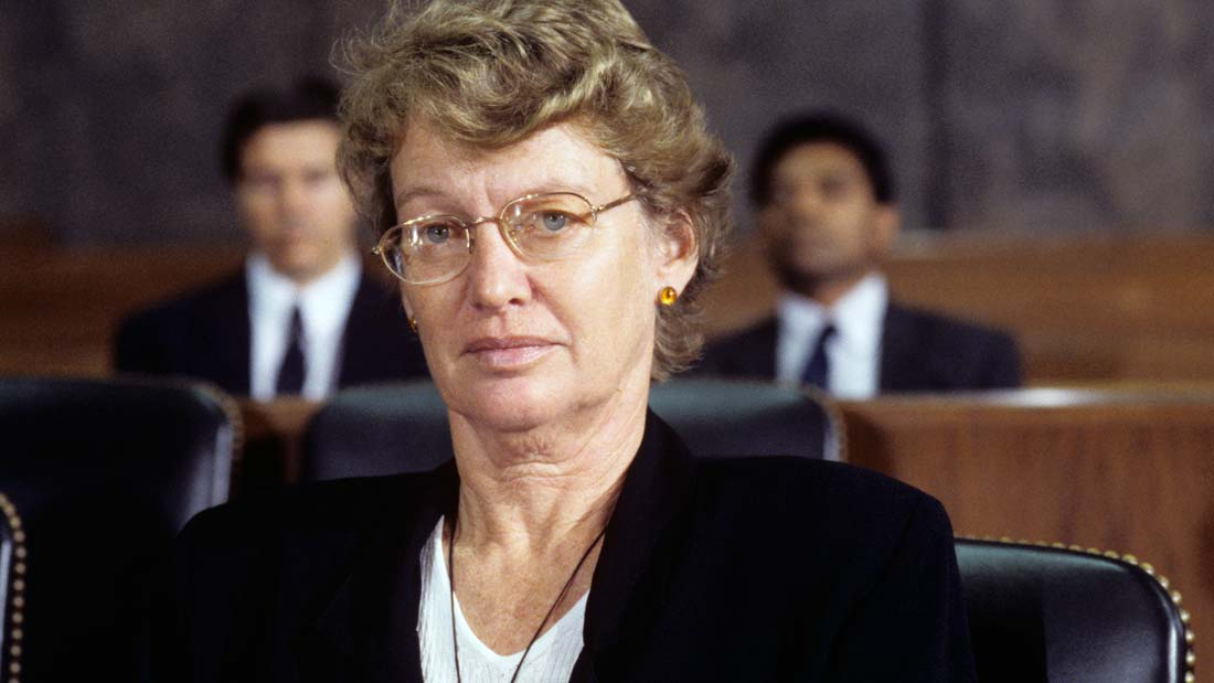 Helen Todd in court featured in Punitive Damage