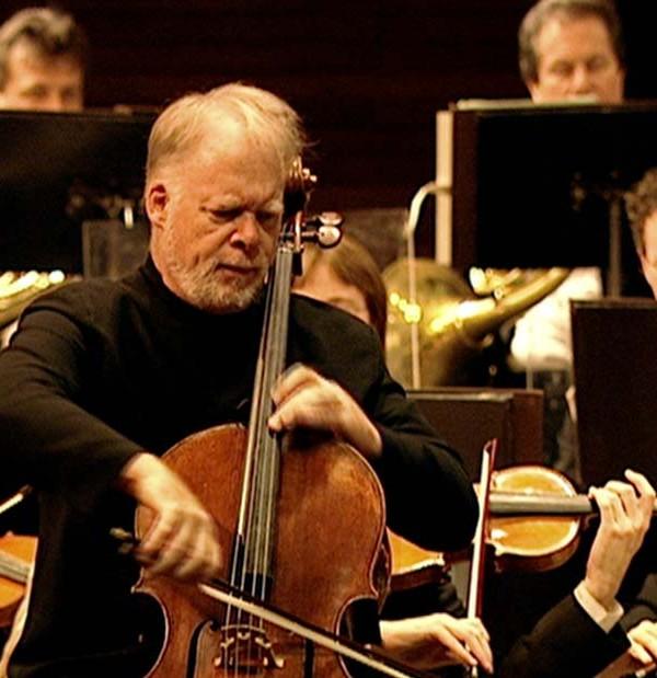 Lynn Harrell performing in the film Elgar's Enigma
