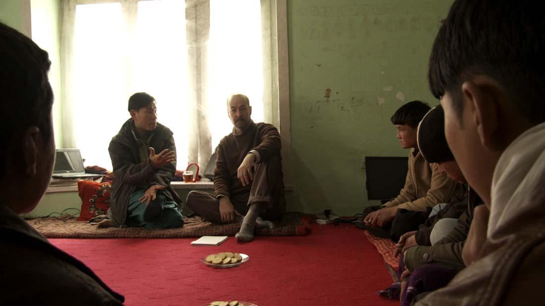 John Stevenson Interviews Hazara boys